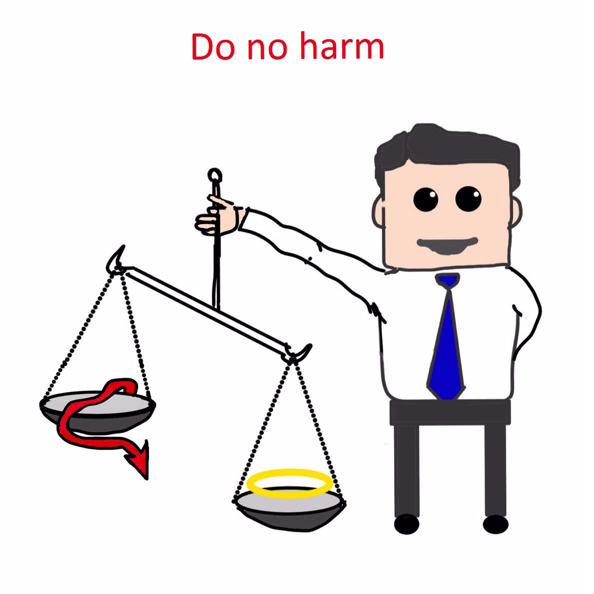 Do no harm pledge